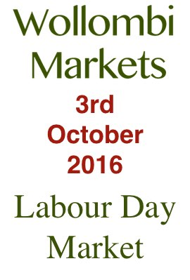wollombi Labour Day Market