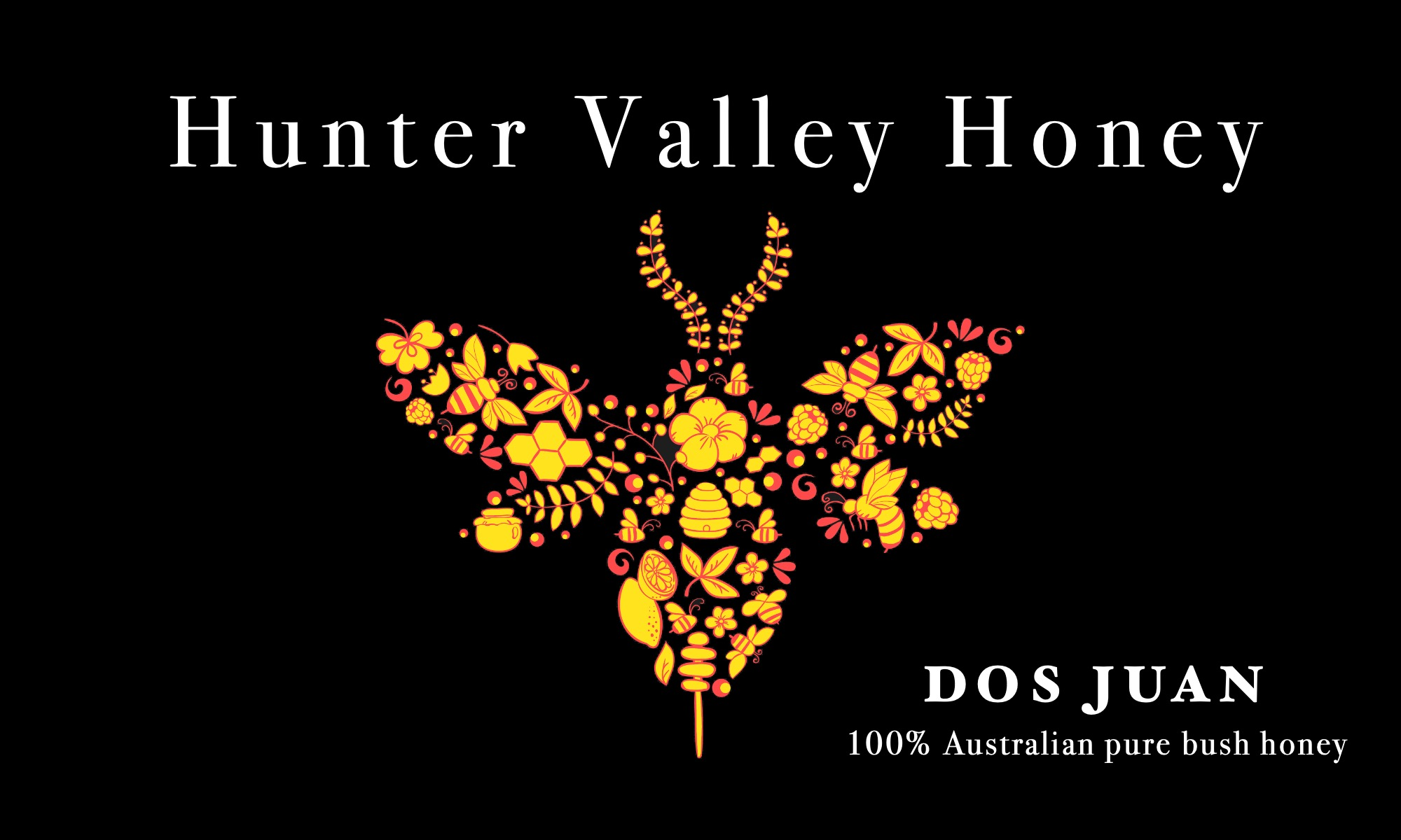 Hunter Valley Honey - Dos Juans Fine Food